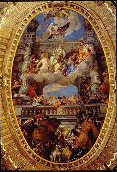 Trionfo di Venezia (Palazzo Ducale)-Veronese