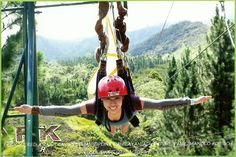 Asia's longest zipline in Bukidnon
