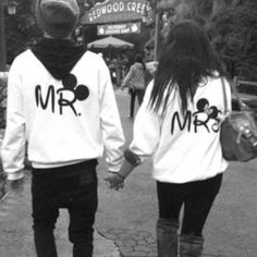 Matching couples sweatshirts Clothes ❤ liked on Polyvore featuring couples, instagram, pictures, people and white & black