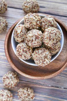 Almond Coconut Energy Bites