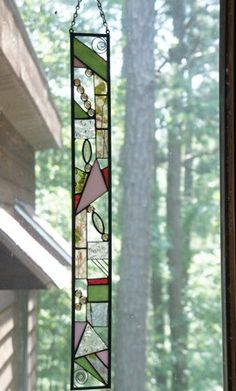 Stained glass - unique skinny shape