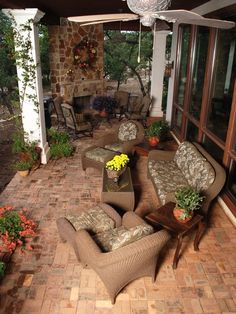 Porch Remodeling http://betterhomesgardens.tumblr.com/post/31921429795/porch-remodeling