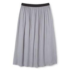 Midi skirt from Target.  Also comes in black.