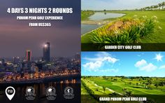 Explore Phnom Penh Golf Experience in 4 Days 3 Nights 2 Round at Garden City Golf Club and Grand Phnom Penh Golf Club from 365$ with PSD Travel today! For more detail: info@psdtravel.com #psdtravel #gardencitygolfclub #grandphnompenhgolfclub