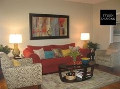 Living Room by Tyson Designs