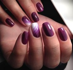 ❤ДИЗАЙН НОГТЕЙ.УРОКИ МАНИКЮРА Purple Nail Designs, Colorful Nail Designs, Beautiful Nail Designs, Nail Art Designs, Pretty Nail Art, Nagel Gel, Stylish Nails, Creative Nails, Gorgeous Nails