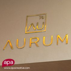 Brand development for Aurum Panamá, an International Restaurant located at Hotel Las Américas Golden Tower.  This place says exquisite, golden and exclusive. What does your brand say?  #6Days until their #GrandOpening  www.apacreative.com