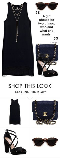 """Jun 6th (tfp) 3744"" by boxthoughts ❤ liked on Polyvore featuring Justicia Ruano, Chanel, Nina, RetroSuperFuture, SUGARFIX by BaubleBar and tfp"
