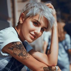 Yulia Short Hairstyles – 7 - 30 Most Popular Short Hairstyles For Women - Stylendesigns Popular Short Hairstyles, Girls Short Haircuts, Short Hairstyles For Thick Hair, Short Grey Hair, Short Hair Cuts, Short Hair Styles, Layered Hairstyles, Tomboy Hairstyles, Cool Hairstyles
