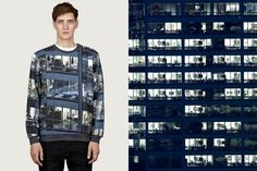 Carven: photography of Michael Wolf on clothes