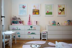 Well, this is lovely child's room with IKEA furniture
