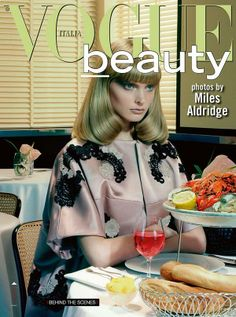 Vogue Beauty Italia by Miles Aldridge