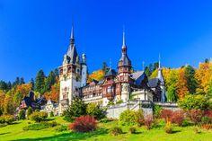 Peles Castle European Destination, European Travel, Romania Map, Peles Castle, Black Church, Famous Castles, Voyage Europe, Flight And Hotel, Belle Villa