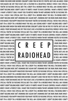 Creep - Radiohead #lyrics