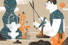 Iberoamérica Ilustra by Mar Hernandez, via Behance