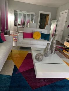 Home Interior Decoration .Home Interior Decoration Cute Living Room, Glam Living Room, Living Room Decor Cozy, Living Room Goals, Bedroom Decor, Bedroom Wall, Wall Decor, First Apartment Decorating, Interior House Colors