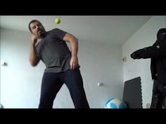 Solo training with the tennis ball - YouTube