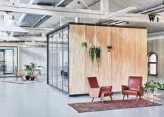 Melinda Delst Interior Design and Studio Modderman — Fairphone's Amsterdam offices built inside an old warehouse using reclaimed materials