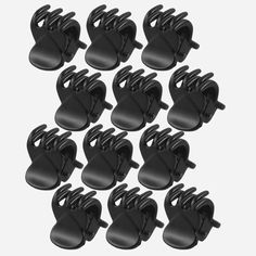 10Pcs Fashion Large Plastic Hair Claws Women Girl Hairpins Clip Clamps Jaw Hot