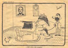 Revista Pobre Diablo Nº212, Diciembre 1949, Landrú / Landru
