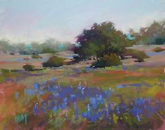Paint in One of my Favorite Places in US, painting by artist Karen Margulis