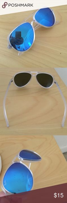 Raybans Perfect beach sunnies! Worn. See minor scratches in photos. Ray-Ban Accessories Sunglasses