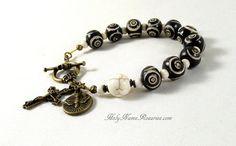 Holy Spirit Rosary Bracelet Single Decade by TheRosaryWorks