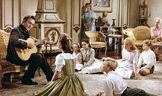 THE SOUND OF MUSIC Starring Christopher Plummer and Julie Andrews in lead roles, this classic featured several memorable songs including My Favourite Things, Do-Re-Mi, Edelweiss and Sixteen Going on Seventeen.Musicals on the silver screen Julie Andrews, Old Movies, Great Movies, Awesome Movies, Indie Movies, Vintage Movies, Rasta Rockett, Film Musical, Music Film