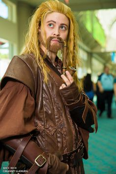 Fili (Hobbit) #Dwarves #Cosplay #SDCC San Diego Comic Con 2014 Day 1
