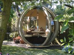 12 Ideas For Outdoor Offices - Beauty Harmony Life
