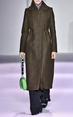 Panno Twill Relaxed Coat by MARCO DE VINCENZO for Preorder on Moda Operandi
