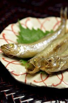 Grilled Japanese Small Caplin Fish (Whole Eating Dish) | Shishamo ししゃも