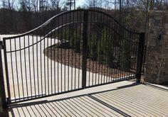 steel gate fencing