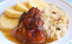 Lepenice s pečeným krůtím stehnem Mashed Potatoes, Pork, Meat, Chicken, Cooking, Ethnic Recipes, Whipped Potatoes, Kale Stir Fry, Kitchen