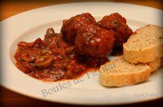 cookvalley - tanker om mad: Spanske kødboller på fransk: Boules de Picolet