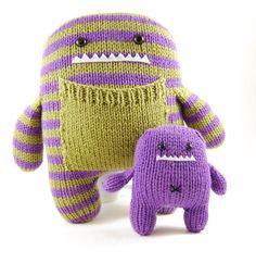 Yarn + Monster = So cute!