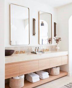 Home Interior Modern .Home Interior Modern Bathroom Interior Design, Modern Interior Design, Scandinavian Modern Interior, Modern Bathroom Design, Minimal Bathroom, Neutral Bathroom, Earthy Bathroom, Colorful Bathroom, Natural Modern Interior