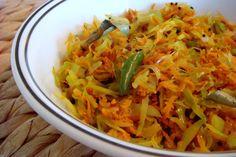 Cabbage Carrot Poriyal/ Stir fry