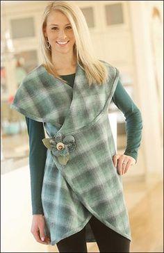 (9) Name: 'Sewing : 5-Way Wrap Shawl