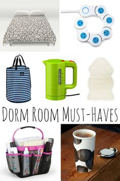 Dorm Room Must-Haves For Your New College Student!