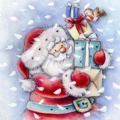 Biblioteca de Imagens Designs ilustrações originais ocasiões cumprimentos cartões de Natal