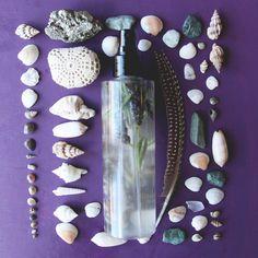 DIY Mermaid Spray For Beachy Waves