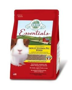 SMALL ANIMAL - FOOD - ESSENTIALS ADULT GUINEA PIG - 5 LB - OXBOW ANIMAL HEALTH - UPC: 744845402901 - DEPT: SMALL ANIMAL PRODUCTS
