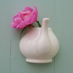 Interior, Wall Mountes Teapot Vase Single Flower: Floral Bring The Spring Arrangments To Your Home Even It Summer