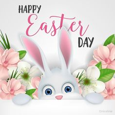 """easter lettering with white cartoon bunny"" by Chris olivier Bunny, Stationery, Greeting Cards, Easter, Lettering, Stickers, Cartoon, Motivation, Christmas Ornaments"