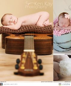 I need to do this with the baby and Ethan's guitar!