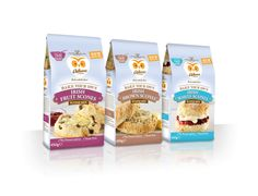 Odlums Bake your Own Scone mix range by Mesh Design Consultants, Dublin.