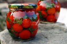 Good Food, Yummy Food, Polish Recipes, Preserves, Mason Jars, Vegan Recipes, Food And Drink, Tasty, Homemade