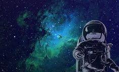 Resultado de imagem para astronaut illustration wallpaper