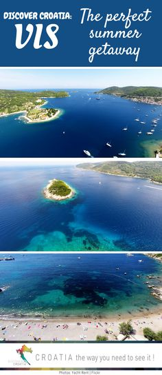 The island of Vis in southern Croatia.